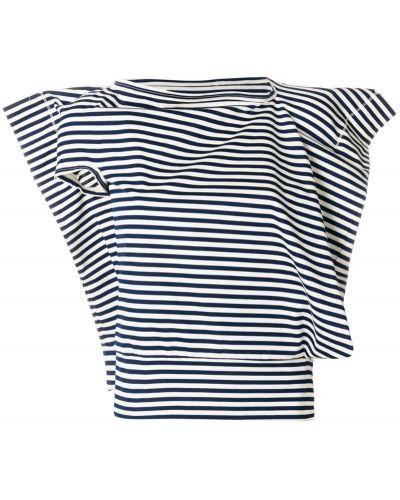Блузка в полоску асимметричная Junya Watanabe Comme Des GarÇons