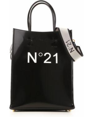 Czarna torebka skórzana No. 21