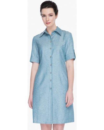 Голубое платье весеннее Gregory