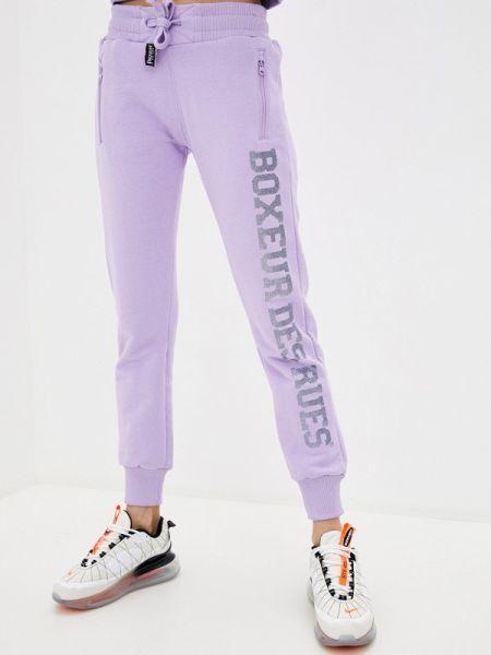 Фиолетовые спортивные брюки Boxeur Des Rues