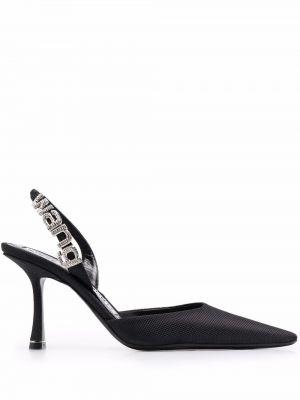 Черные туфли на каблуке Alexander Wang