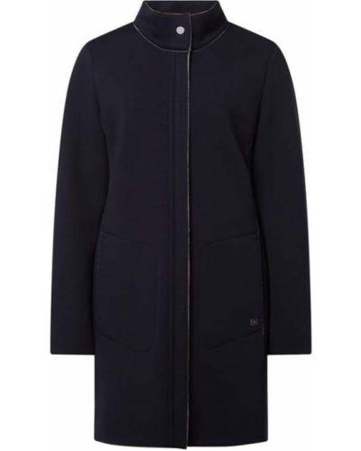 Niebieski płaszcz z wiskozy Fuchs Schmitt