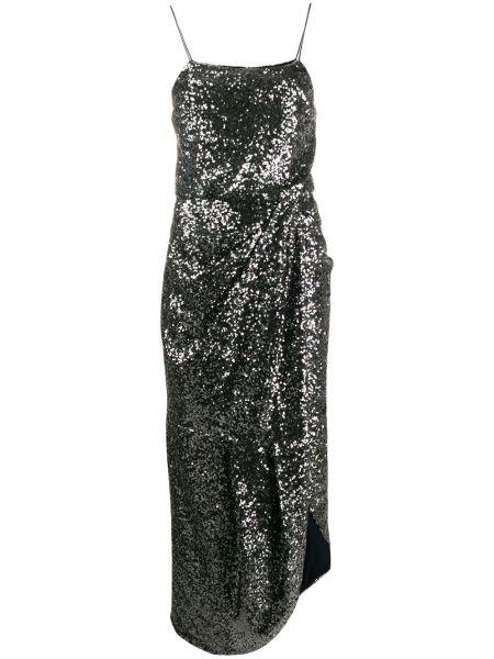 Платье с пайетками на бретелях Derek Lam 10 Crosby