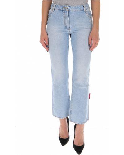 Białe jeansy bawełniane Off-white