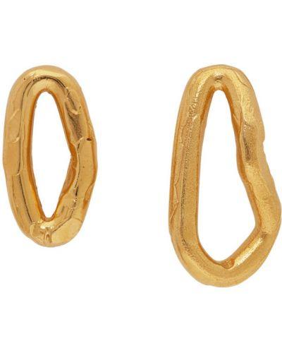 Kolczyki ze sztyftem złoto Alighieri