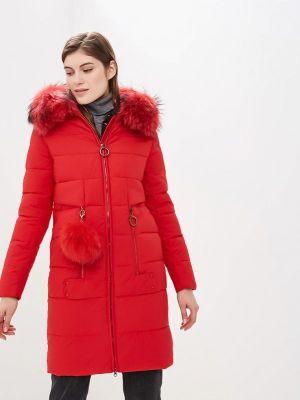 Зимняя куртка осенняя красная Winterra