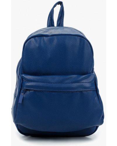 Кожаный рюкзак - синий Kawaii Factory