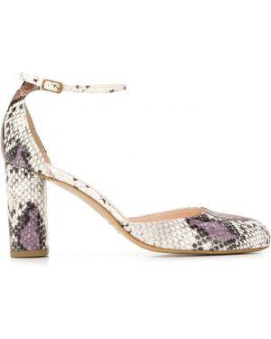 Туфли-лодочки с пряжкой на каблуке Lenora