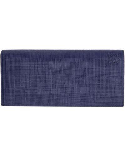Текстильный черный кошелек для монет с тиснением Loewe