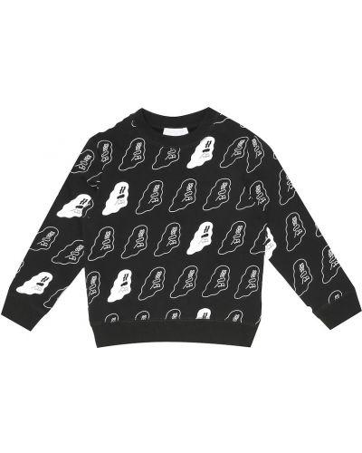 Bawełna bawełna czarny bluza Stella Mccartney Kids