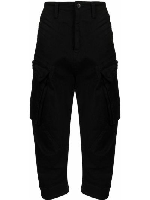 Czarne spodnie bawełniane Julius