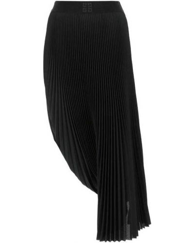 Czarna spódnica midi elegancka Givenchy