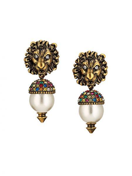 Kolczyki złoto ze złota Gucci