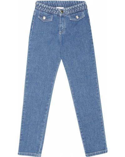 Prosto bawełna bawełna niebieski jeansy Chloã© Kids