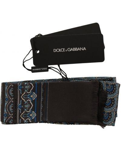 Szary szalik Dolce And Gabbana