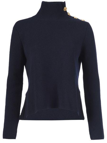 Синий свитер Red Valentino