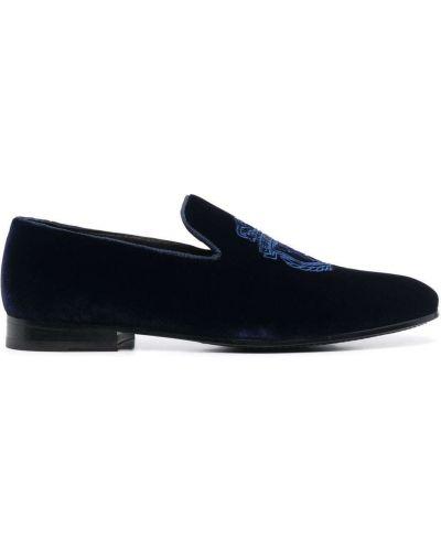 Синие туфли на плоской подошве Billionaire