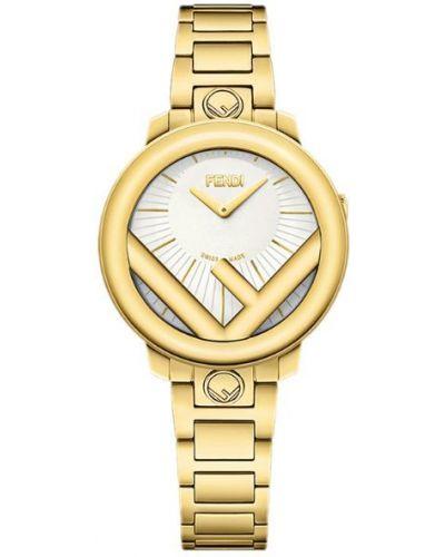 Часы желтый Fendi