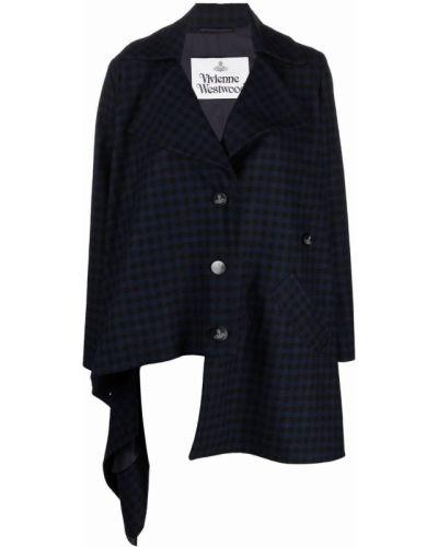 Шерстяное пальто - черное Vivienne Westwood