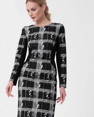 Платье прямое осеннее Lo