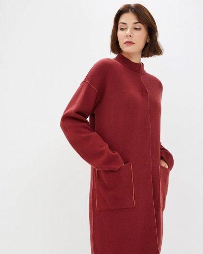Пальто бордовый летнее United Colors Of Benetton
