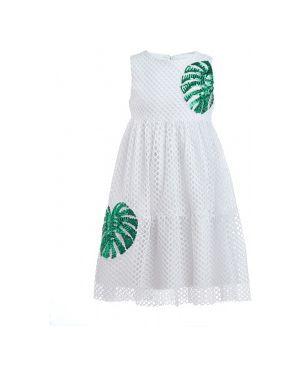 Платье на торжество белое Button Blue