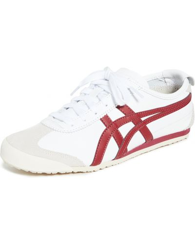 Кожаные кроссовки - белые Onitsuka Tiger