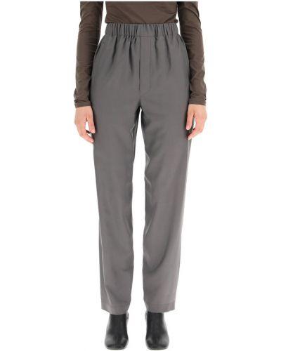 Szare spodnie Lemaire