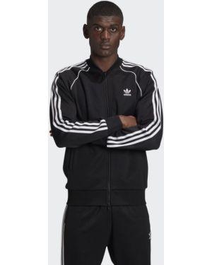 Костюмный черный костюм классический Adidas
