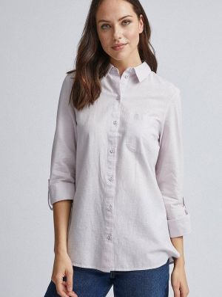 Рубашка с длинным рукавом фиолетовый Dorothy Perkins