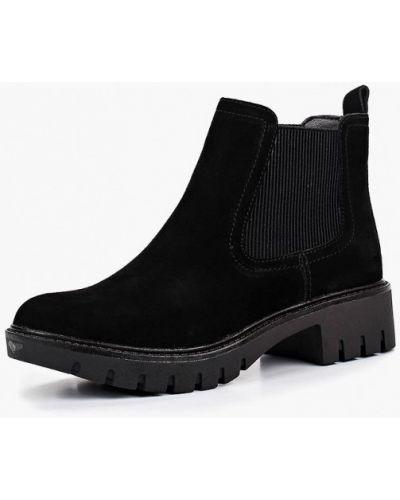 Ботинки челси осенние на каблуке Alessio Nesca