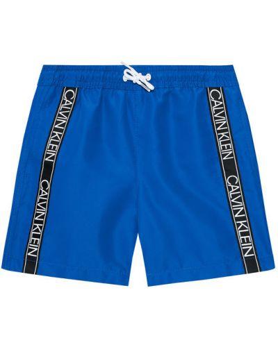 Szorty - niebieskie Calvin Klein Swimwear