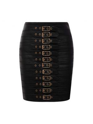 Черная итальянская юбка Manokhi