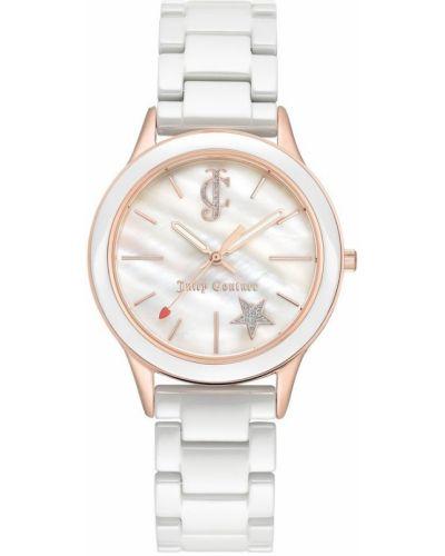Różowy złoty zegarek mechaniczny na co dzień Juicy Couture
