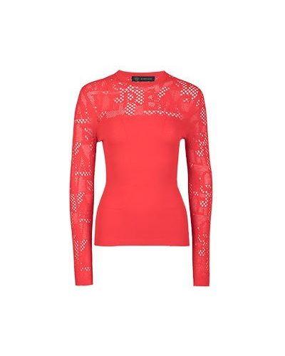 Джемпер красный Versace