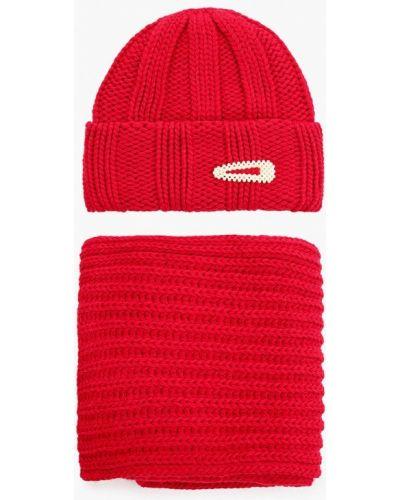 Красный зимний шарф Trendyangel