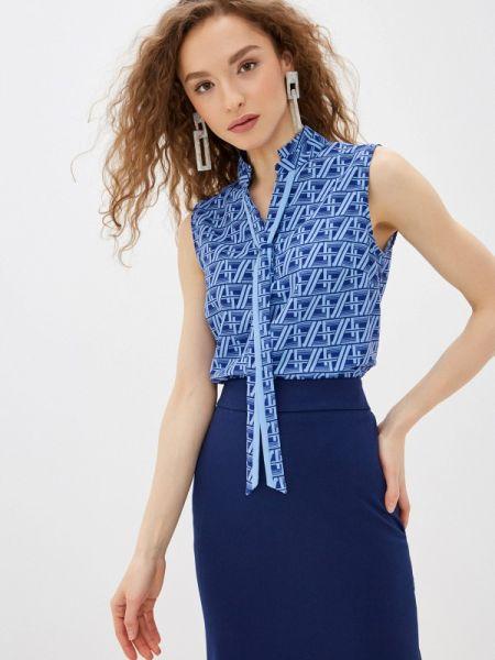 Синяя блузка Antiga
