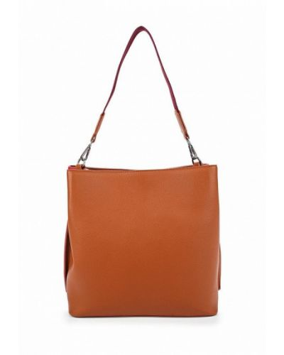 Кожаная сумка из искусственной кожи United Colors Of Benetton