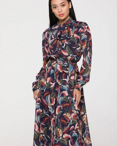 Разноцветное платье Brunello De Neri