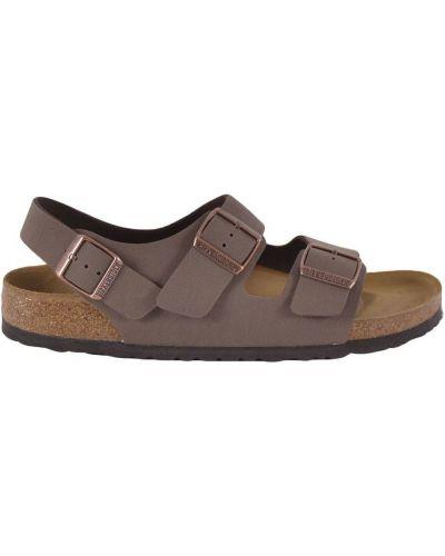 Sandały w paski klamry Birkenstock