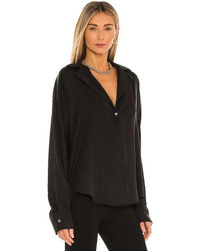 Bluzka elegancka - czarna L'academie