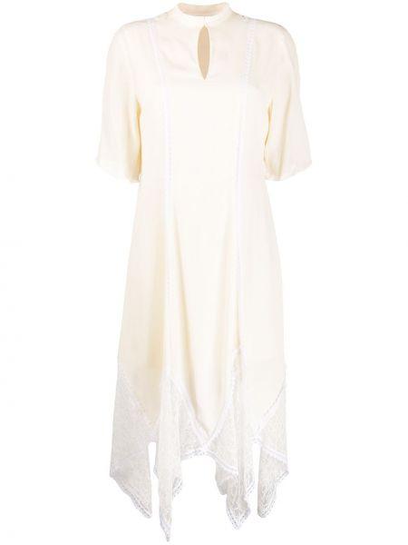 Платье мини миди с рукавами See By Chloe