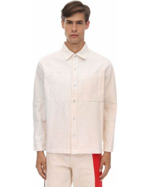 Biała koszula bawełniana Gr Uniforma X Diesel Red Tag