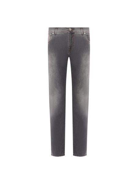 Прямые джинсы - серые Andrea Campagna