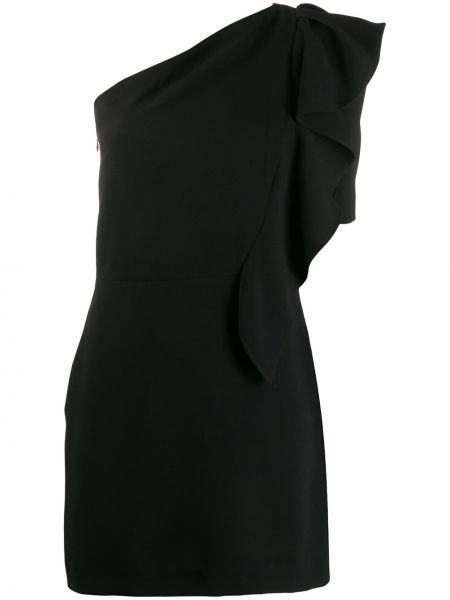 Платье на одно плечо черное Iro
