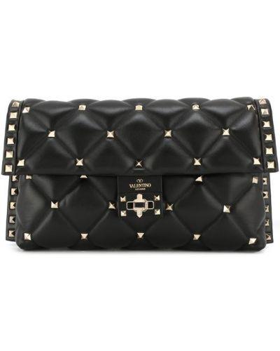 Черная вечерняя сумка Valentino