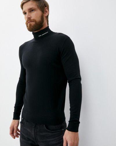Черная водолазка Karl Lagerfeld