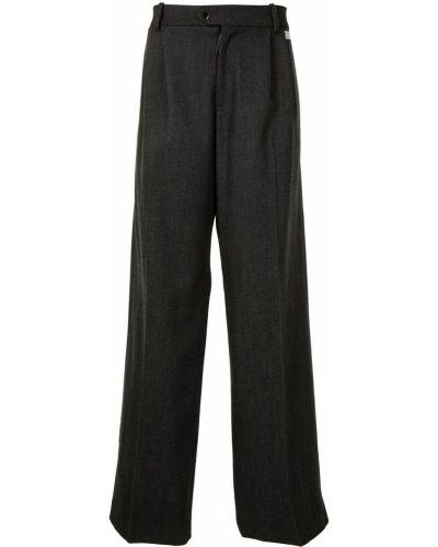 Spodni z wysokim stanem spodnie z paskiem Off-white