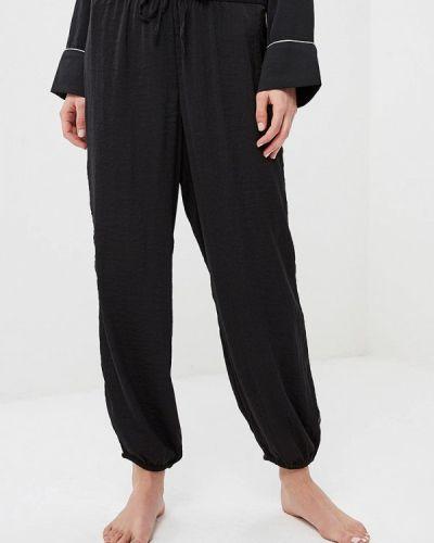 Черные брюки домашние Gap