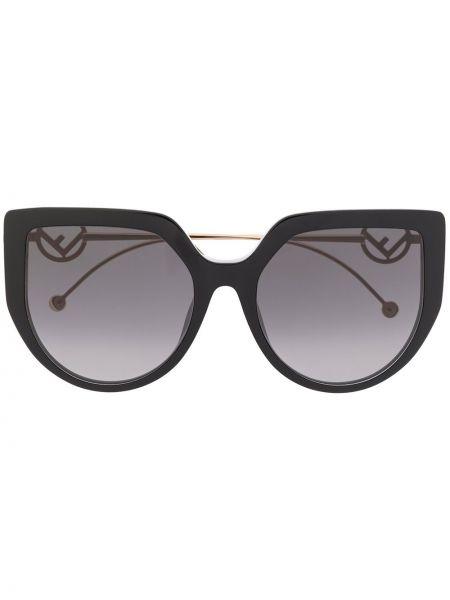 Okulary przeciwsłoneczne dla wzroku z logo przeoczenie Fendi Eyewear